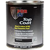 POR-15 45804 Top Coat Gloss Black Paint 32 fl. oz.