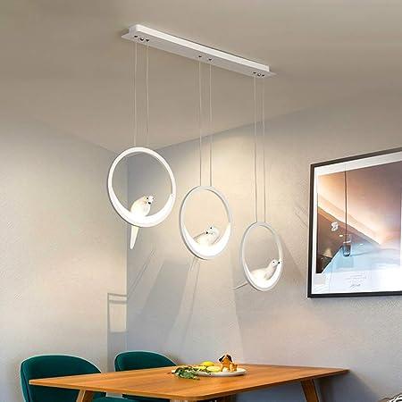 Araña de Luces LED de Acrílico, Lámpara Mesa de Comedor Luz de ...