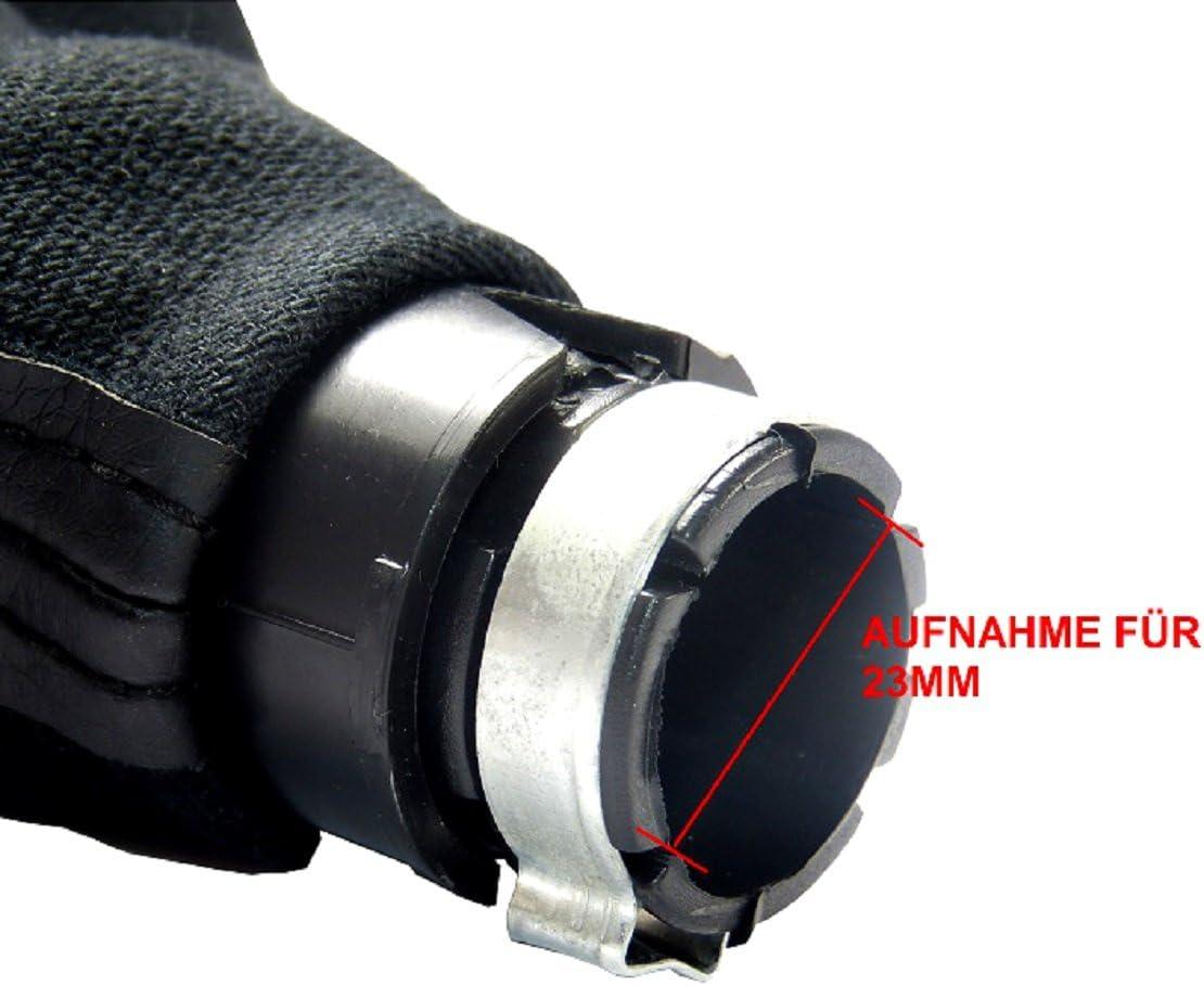 Cornice con 5/Gang con 23/mm Pomello Come Plug Play Parte di Ricambio per 1j0711113 L/&P Car Design GmbH L /& P A252/Cambio in Nero pomello del Cambio
