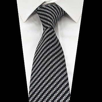 KYDCB Nueva Calidad de la Moda 8 cm Hombres Corbata a Rayas ...