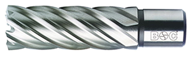 Bohrcraft Kernbohrer HSS mit Weldonschaft 3//4 Zoll 1 St/ück 40,0 x 50 mm Schnitttiefe in QuadroPack 19500304050