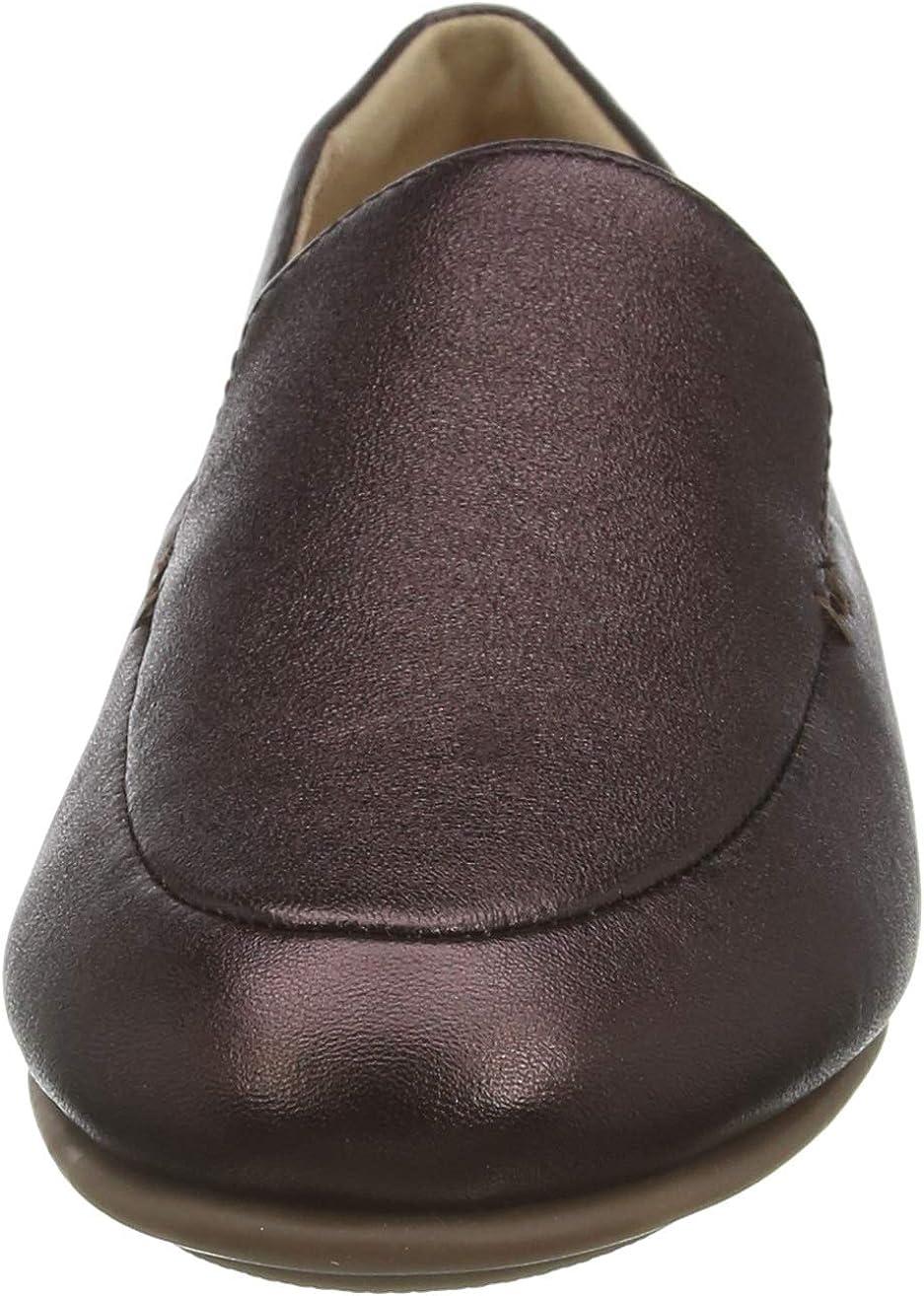 Fitflop Damen Lena Loafer Slipper, beige Braun Chocolate Brown 167 Zk3dw