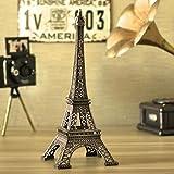 HuaYang Retro Statue Figurine Paris la Tour Eiffel Model Décor de Noël Cadeau de Noël(Taille: 10cm)