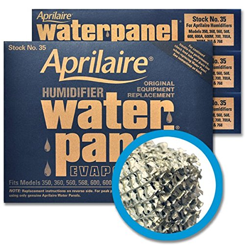 Aprilaire #35 Water Panel Evaporator, 4-Pack