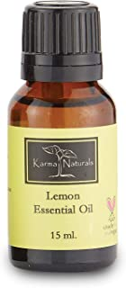 product image for Karma Organic Lemon Essential Oil and Natural Skin and Hair Care (15 Ml)
