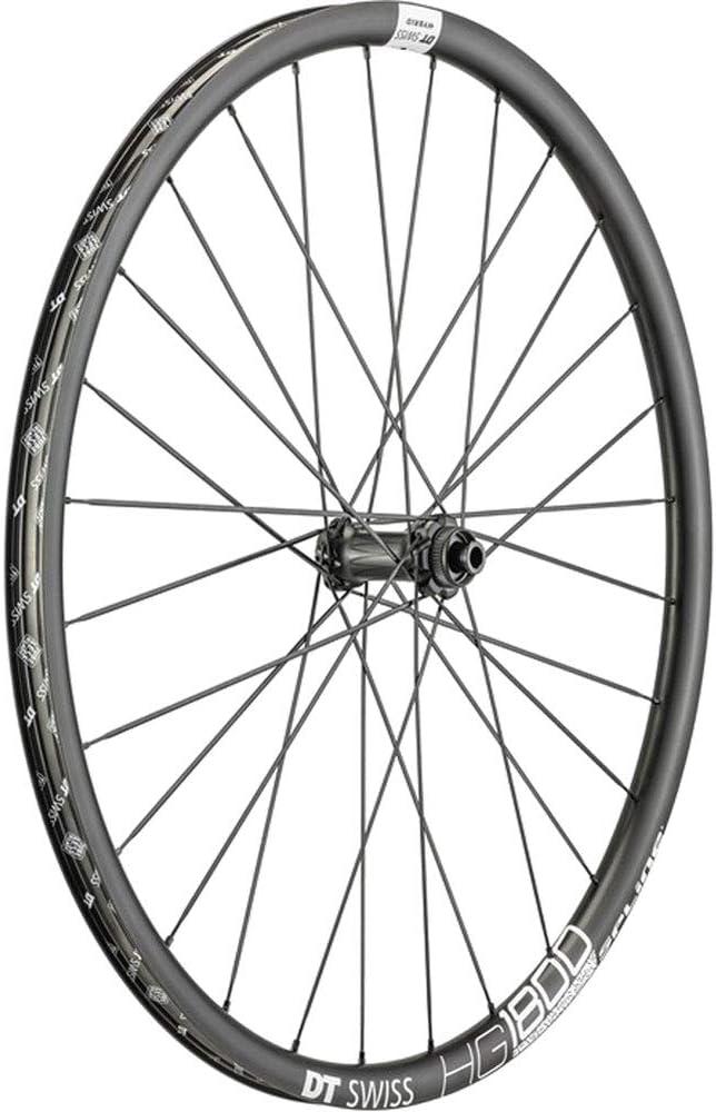 1 Size Adult VR HG 1800 Spline Running Wheel DT Swiss Unisex Black
