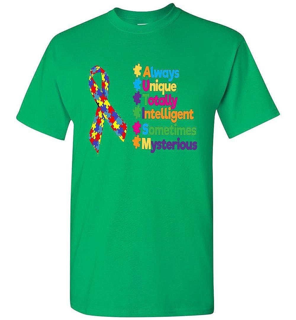 TEEPAAA Autism Awareness Gift T-Shirt
