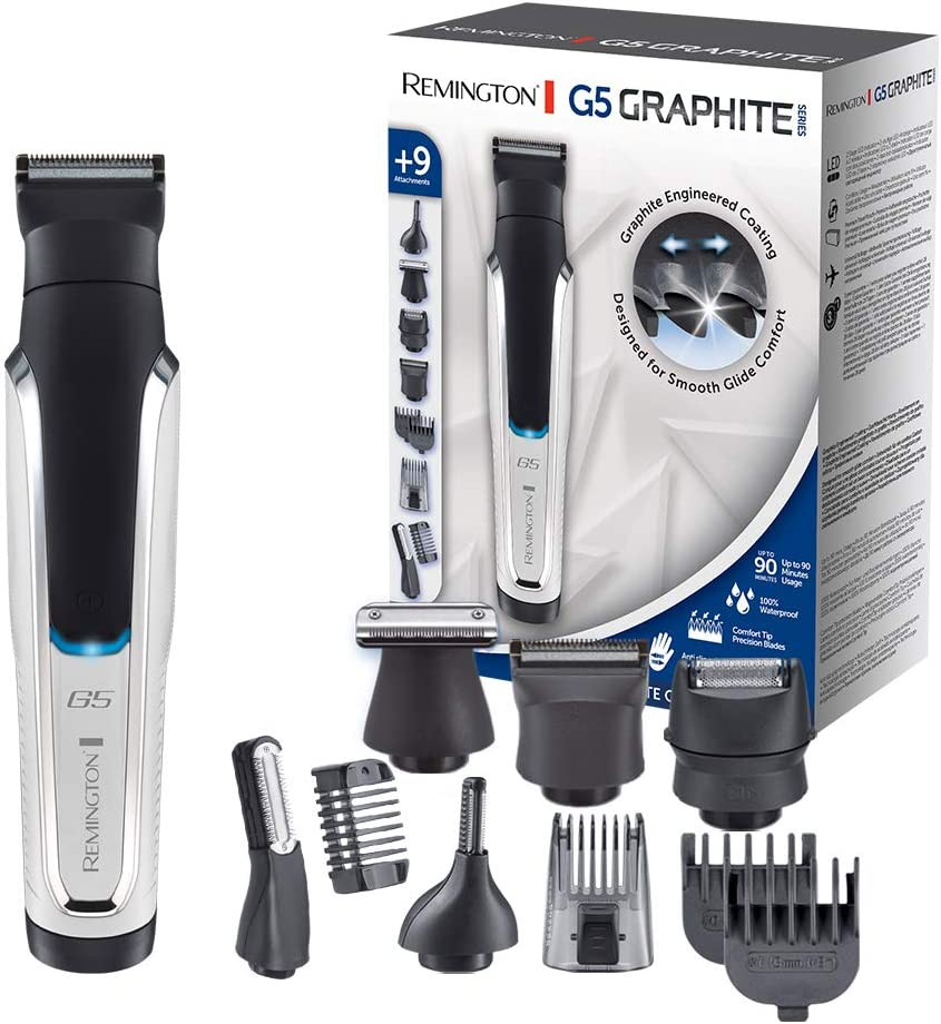 Remington G5 Graphite Series PG5000 - Recortador de Barba y ...