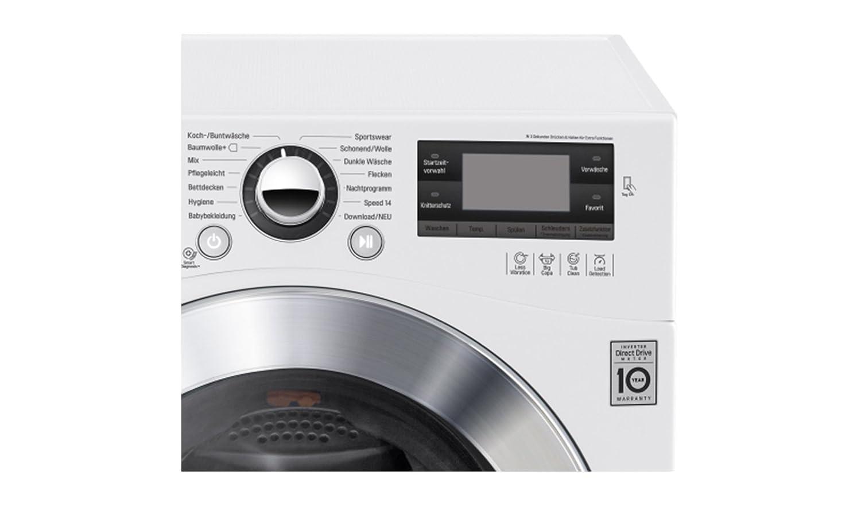 Lg electronics f 1495 bdn2h a waschmaschine 1400upm smart