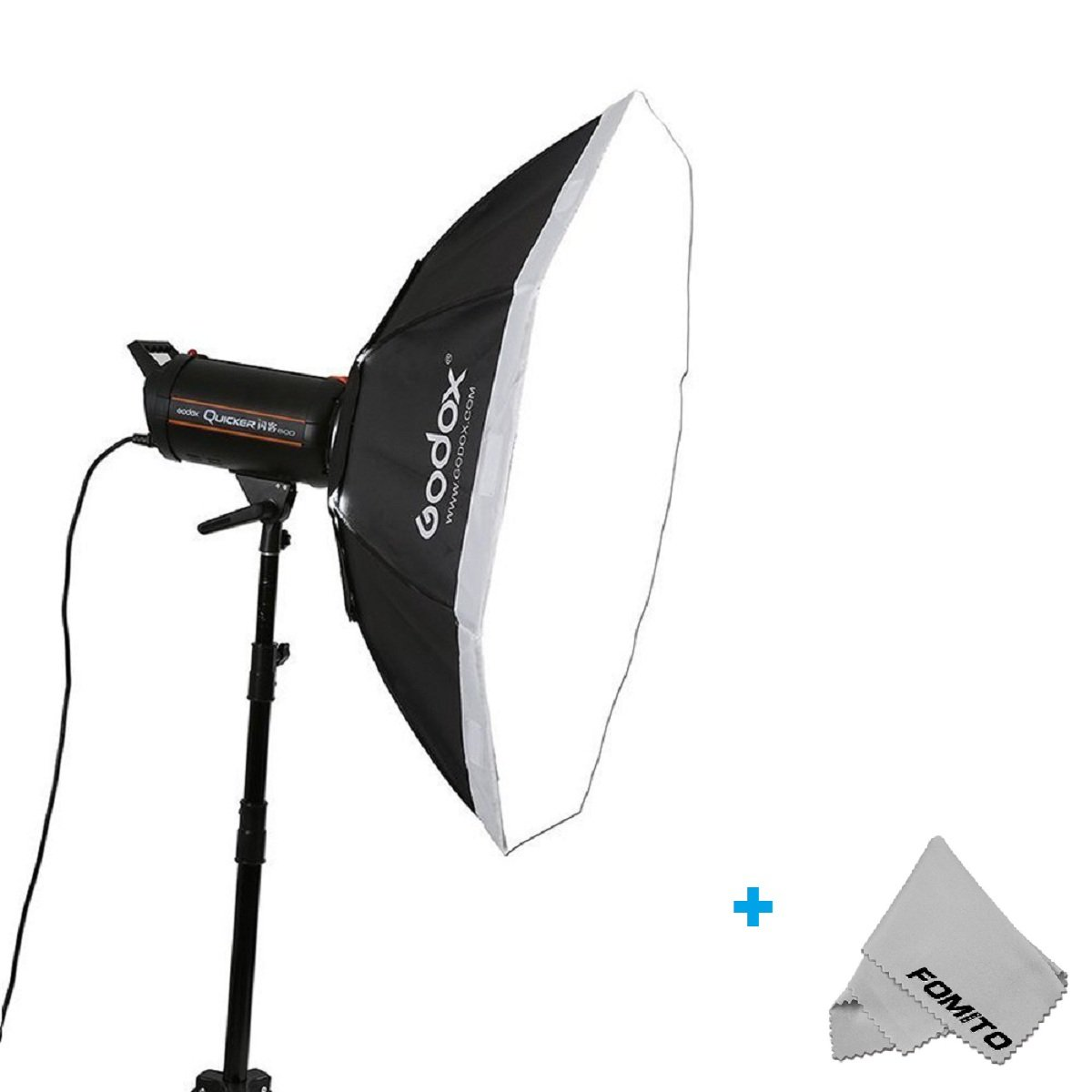 Fomito Godox Top Octagon Softbox 37Inch Octagon Softbox Photography Light Diffuser and Modifier with Bowens Speedring Mount For Monolight Photo Studio Strobe Lighting