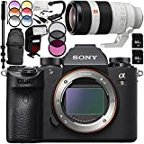 Sony Alpha a9 Mirrorless Digital Camera with FE 100-400mm f/4.5-5.6 GM OSS Lens 14PC Accessory Bundle – Includes 3 Piece Filter Kit (UV + CPL + FLD) + MORE
