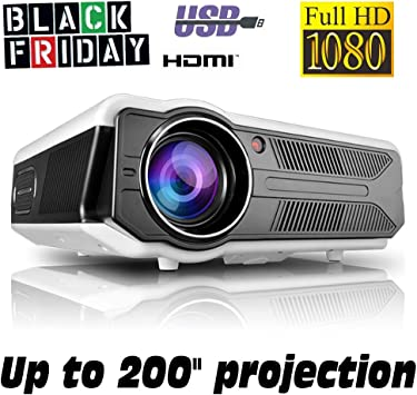 Proyector Black Friday Full HD 1080P, XSAGON (Nueva Version 2019 ...