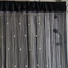 Multi Color Fringe Crystal Beads String Curtain Tassel Door Window Room Divider
