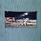 alsoeasy Hiking Towel ceman on Future Solar Discovery in Deep Technology View Blue Grey Resort,Hotels/Motels,Gym use L27.5 x W11.8 inch