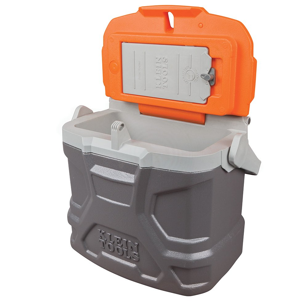 Lunch Box, Insulated Cooler Tote Has 9-Quart Capacity and Seats up to 300 Pounds Klein Tools 55625 by Klein Tools (Image #4)