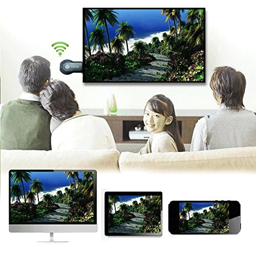 Wireless WIFI Display Dongle,Hiija High Speed HDMI Miracast Dongle, DLNA AirPlay for Android Smartphone Tablet Apple iPhone iPad by Hiija (Image #7)