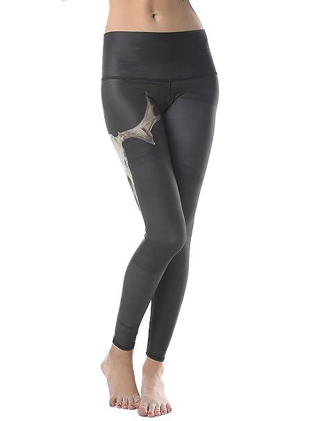 b524121d3c6d8d Teeki Womens Eco-Friendly Yoga Hot Pants (Deer Medicine, X-Small ...