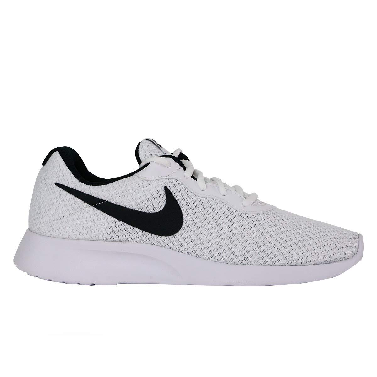 f3ec6c5bb5bcb Nike Men's Tanjun White/Black Running Shoe 10 Men US