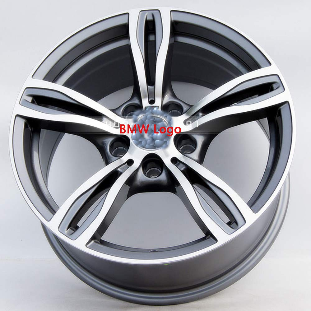 17 Pulgadas Serie M 19 Pulgadas CONRAL Llanta de Cubo de Rueda de fundici/ón de aleaci/ón de Aluminio de 5 radios para BMW Serie 3 Espoleta Plateada,19 Serie 7 18 Pulgadas Serie 5