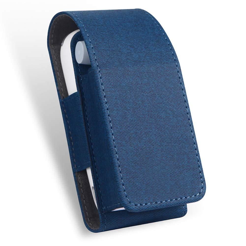 Yeleo Trosetry E Zigarette Tasche Blau Anti-Schock Schutzh/ülle aus Ledertasche f/ür iQOS 3.0 Kein Ger/ät