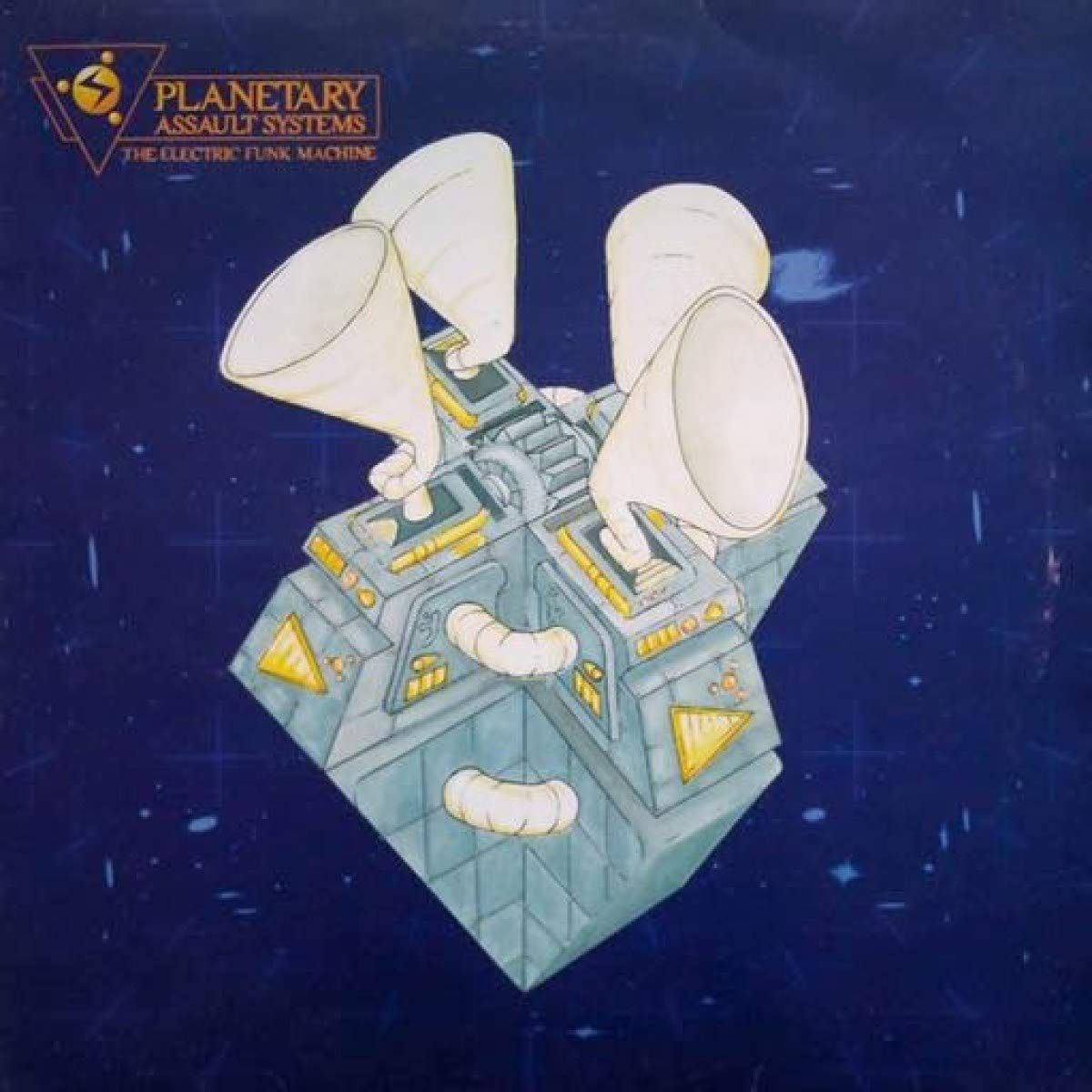 Vinilo : Planetary Assault Systems - Electric Funk Machine (Reissue, United Kingdom - Import)