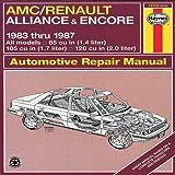 AMC Renault Alliance '83'87 (Haynes Repair Manuals)