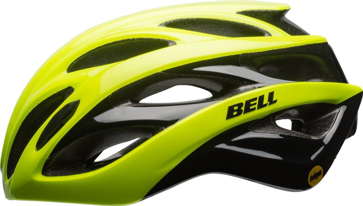 BELL Overdrive MIPS Rennrad Fahrrad Helm gelb schwarz 2017