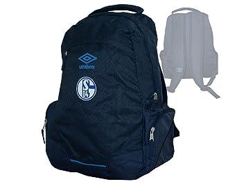 ecdf1b3b332ea Umbro Deutschland FC Schalke 04 Umbro UX ACCURD Backpack - M  Amazon ...