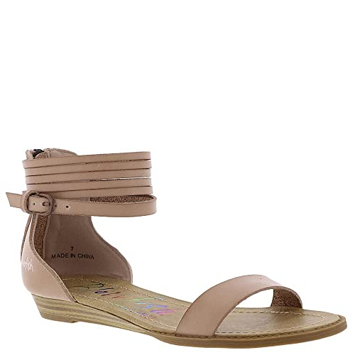 b9358f0c7504 Blowfish Womens Becha Wedge Sandal  Amazon.ca  Shoes   Handbags