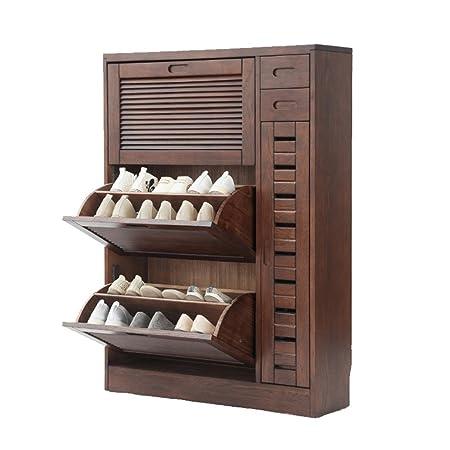 L Y Hallway Furniture Shoe Racks Solid Wood Storage Shoe Rack Simple