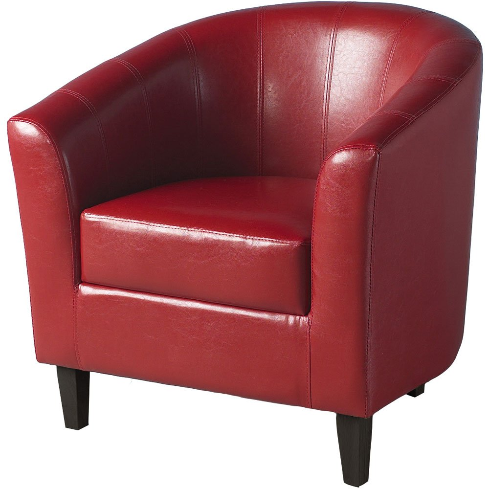. tempo tub chair in red amazoncouk kitchen  home