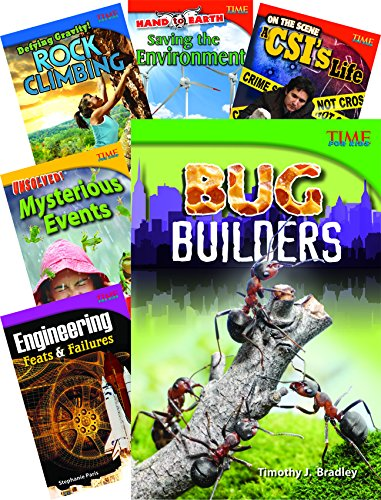 iction Readers STEM Grade 4, 10-Book Set (Three Level Reading Guide)