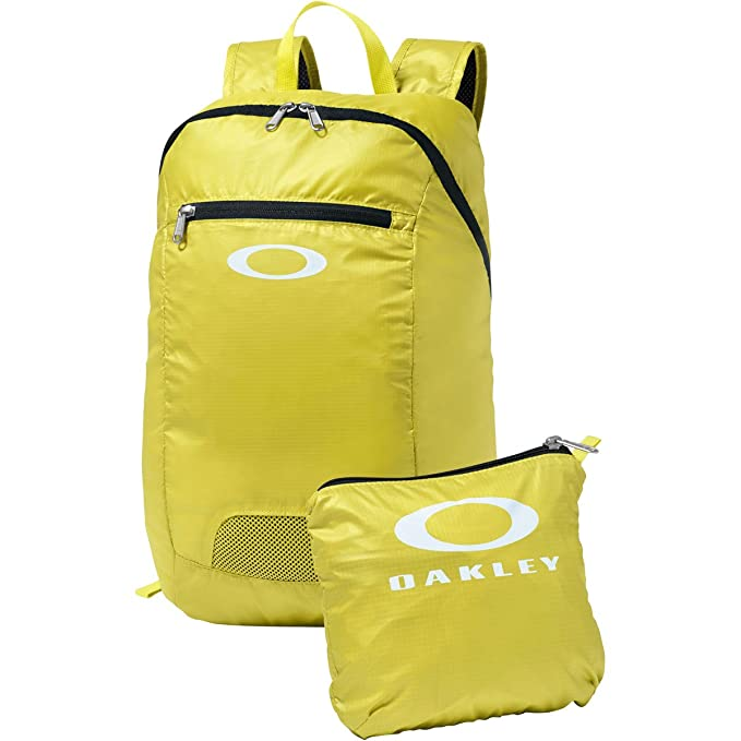 Amazon.com | Oakley Mens Packable Backpack One Size Coral Glow Black | Casual Daypacks