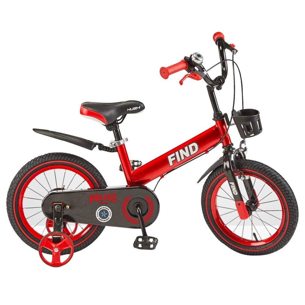 hasta un 50% de descuento rojo Axdwfd Infantiles Bicicletas Bicicleta Unisex for for for niños, con uomoillar y Asiento Ajustables, 12 , 14 , 16 con estabilizadores y Canasta, for niños de 2 a 8 años y niños pequeños 12in  Ahorre hasta un 70% de descuento.