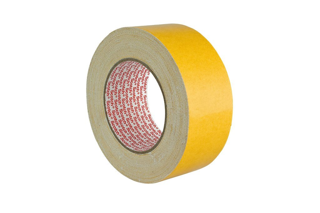 3M Double Coated Carpet Tape 9191 – Double sided adhesive tape for crafting, decorating and fixating carpets and rugs, 50 mm x 25 m - 1 x roll 3M Deutschland GmbH (IBG) (EU) DE272935581