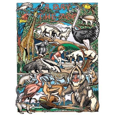 UPC 024225176050, Day at Zoo Kids PBN CFT17605