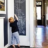 Vinyl Blackboard Chalk Board Wall Sticker Wrapping Paper 43cm x 200cm For Home School & Office by FANCY-FIX