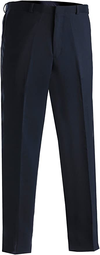 Edwards Garment Mens Washable Dress Pant 38 33 NAVY
