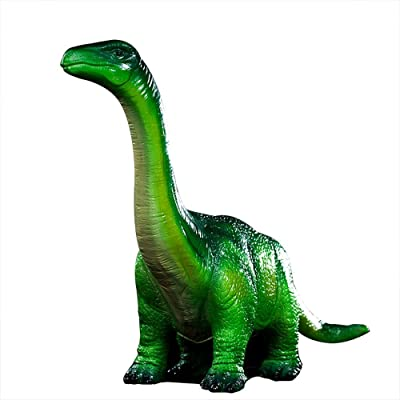 WAIT FLY 16 x 10 x 12 Inches Brachiosaurus Shaped Large Size Resin Piggy Bank Coin Bank Money Bank Best Christmas Birthday Gifts for Kids Boys Girls Home Decoration: Toys & Games