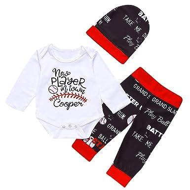 Amazon.com: Bebé recién nacido niño niña letra impresión ...