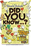 Did You Know... ?, Bathroom Readers' Institute Staff, 1592236820