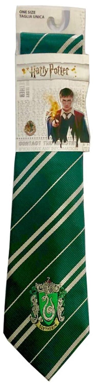Sabor Corbata Adulto Casa Slytherin con Emblema Original 140 cm ...
