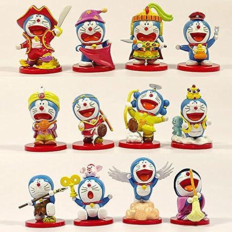 12 Set Figuras Special 35 Edition Doraemon QtsxhCrd