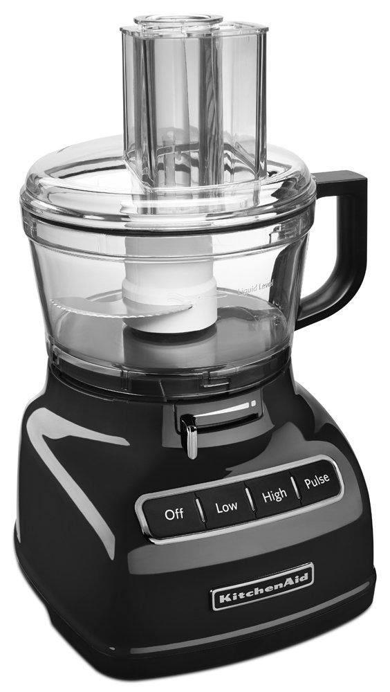 Amazon.com: KitchenAid KFP0722OB 7 Cup Food Processor With Exact Slice  System   Onyx Black: Kitchen U0026 Dining