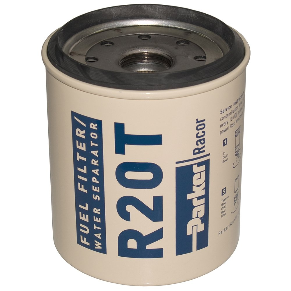 Amazon.com : Racor Diesel Spin-On Series 10 Micron Element for 232 : Boat Fuel  Filters : Sports & Outdoors