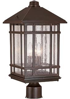 Maxim lighting 4055hobu craftsman post mount light outdoor capable j du j sierra craftsman 18 high outdoor post mount light aloadofball Gallery