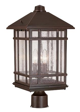 J du j sierra craftsman 18 high outdoor post mount light outdoor j du j sierra craftsman 18quot high outdoor post mount light aloadofball Choice Image