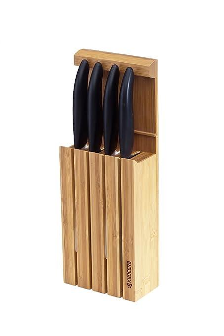 Compra Kyocera - Conjunto de 4 cuchillos de cerámica con ...
