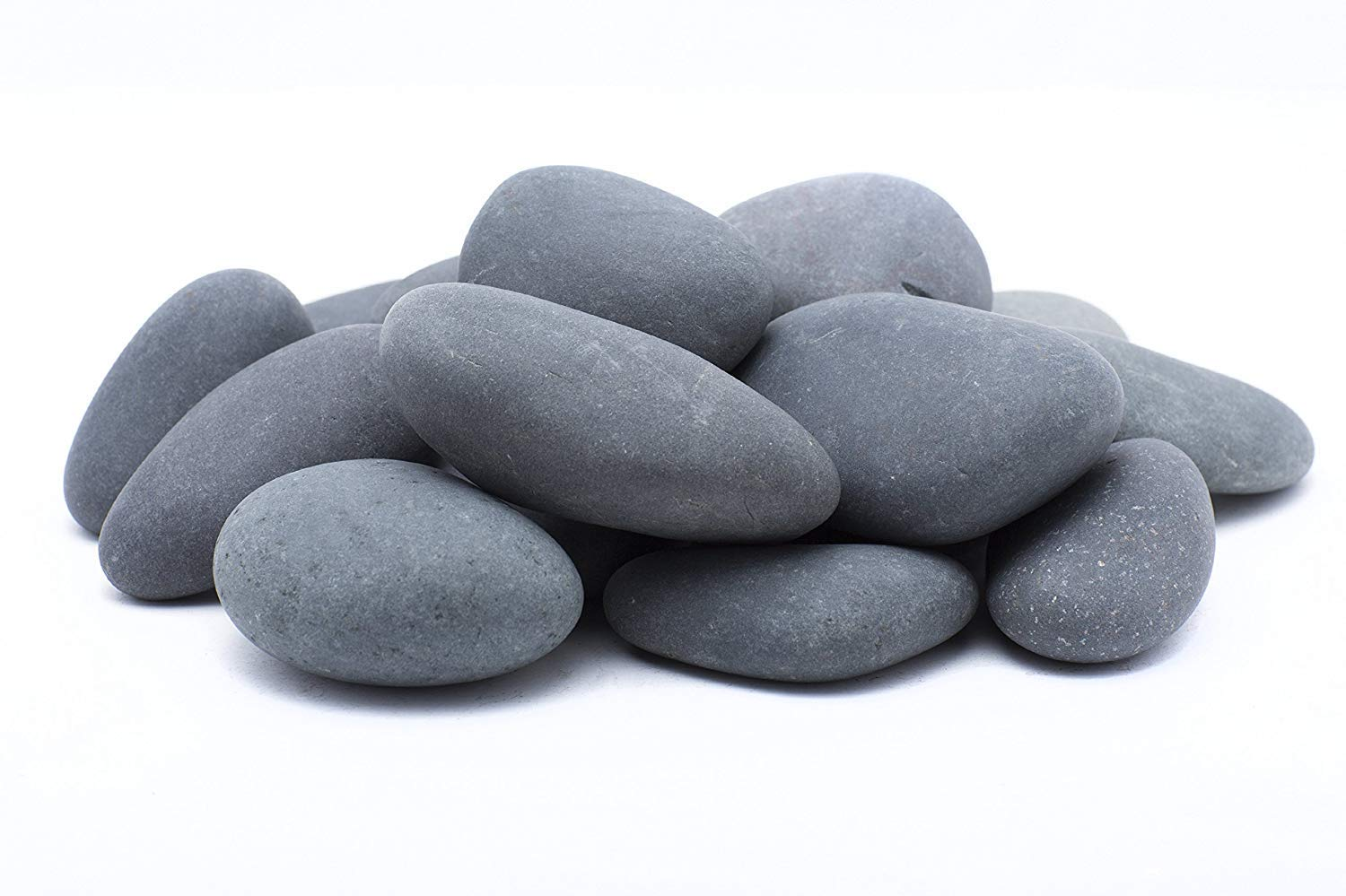 LF Inc. 30 Lb. Premium Large Mexican Beach Pebbles 3-5 inches, Decor, Garden, Landscape