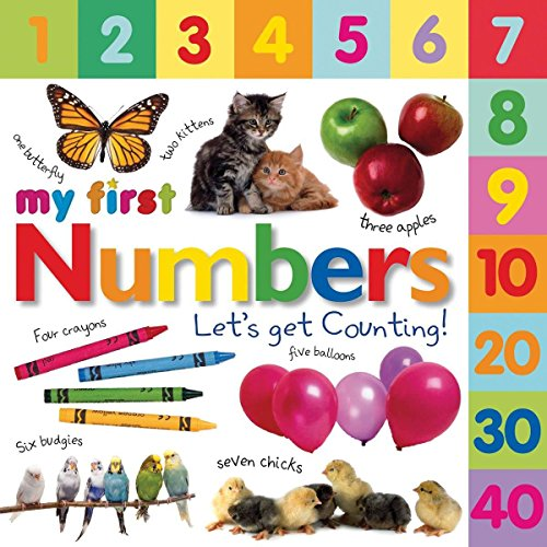 Tabbed Board Books: My First Numbers: Let's Get Counting! (My First Tabbed Board Book)]()